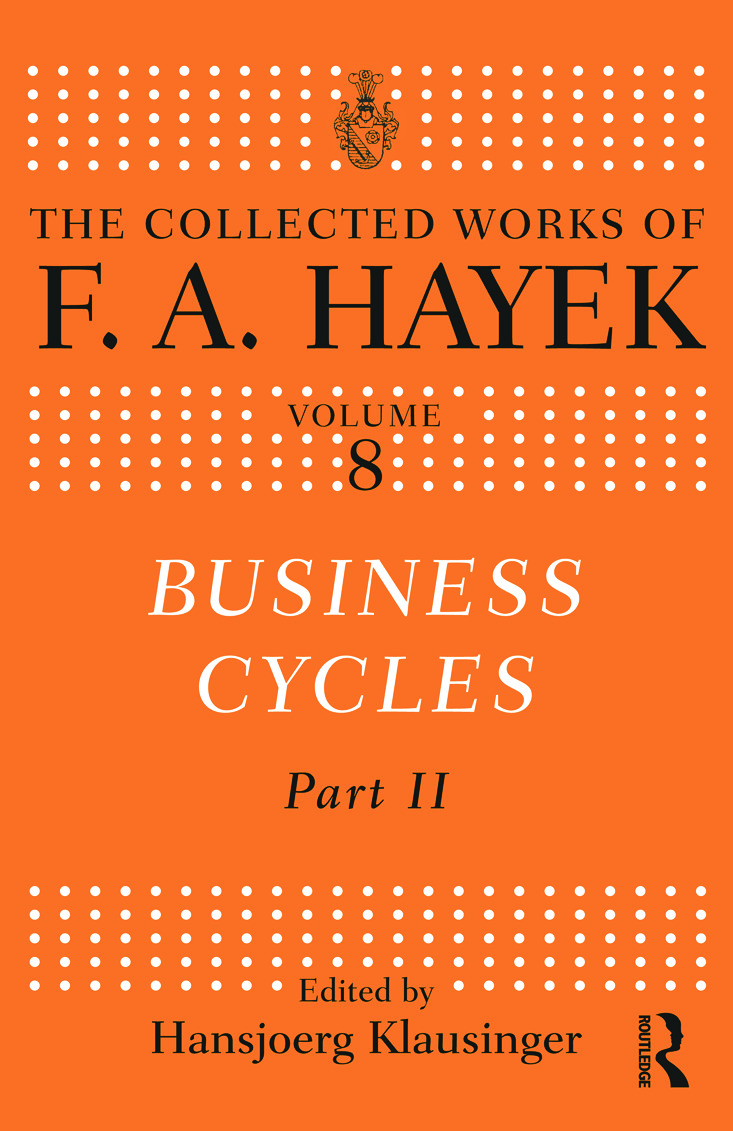 Business Cycles: Part II book cover