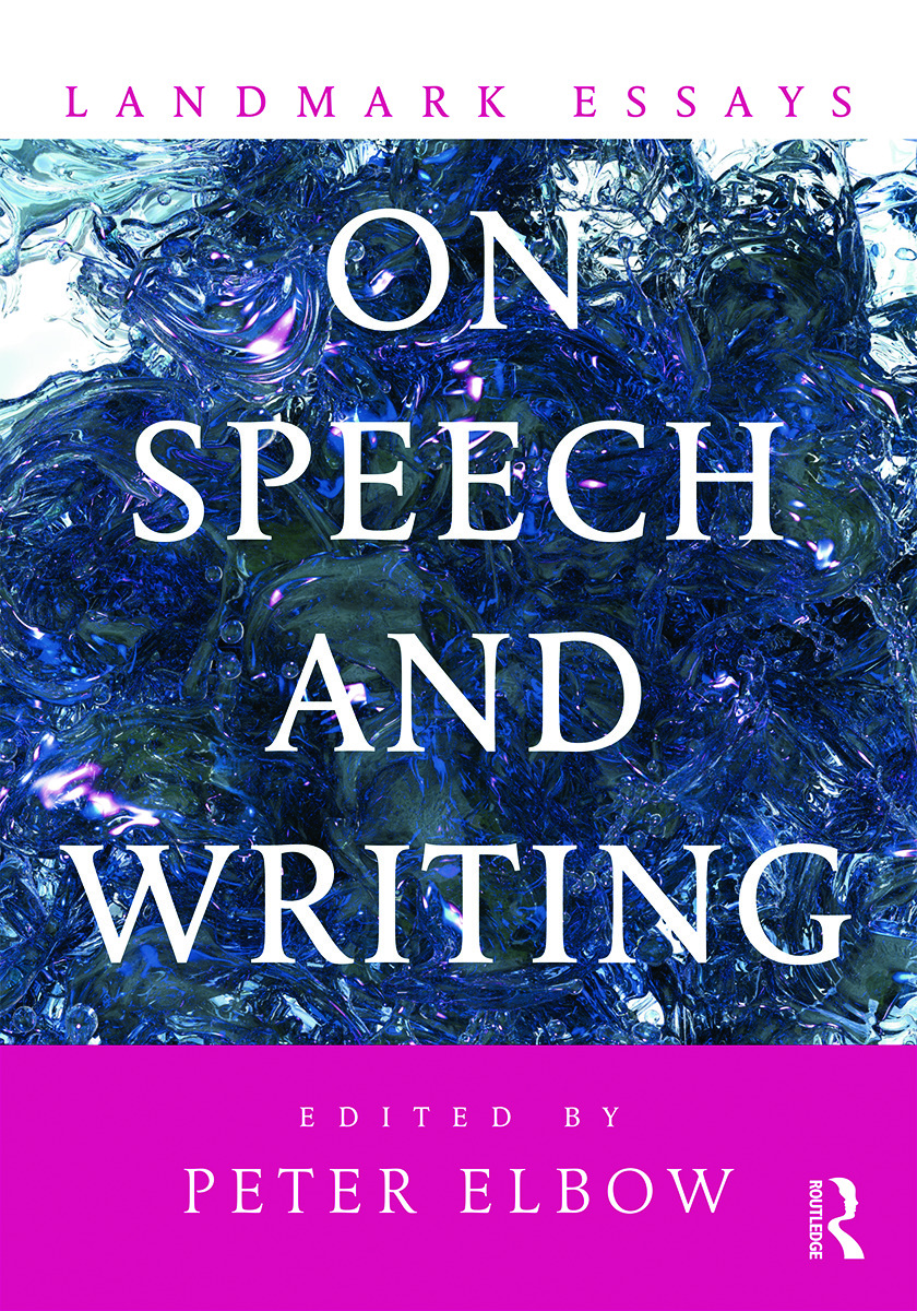Landmark Essays on Speech and Writing: 1st Edition (Paperback) book cover