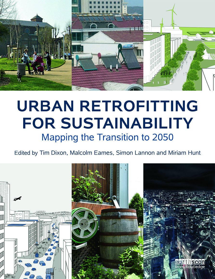 Urban Retrofitting for Sustainability: Mapping the Transition to 2050, 1st Edition (Hardback) book cover