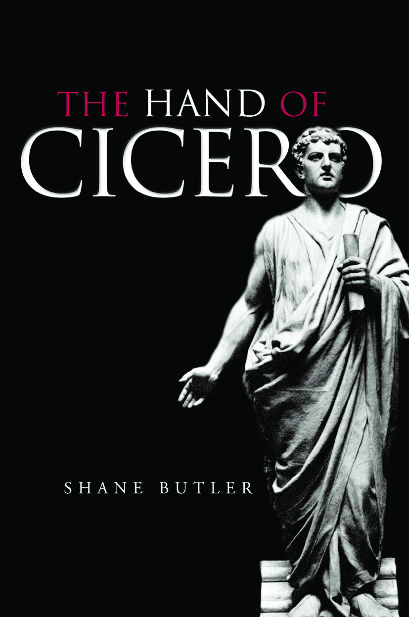 The Hand of Cicero: 1st Edition (Paperback) book cover