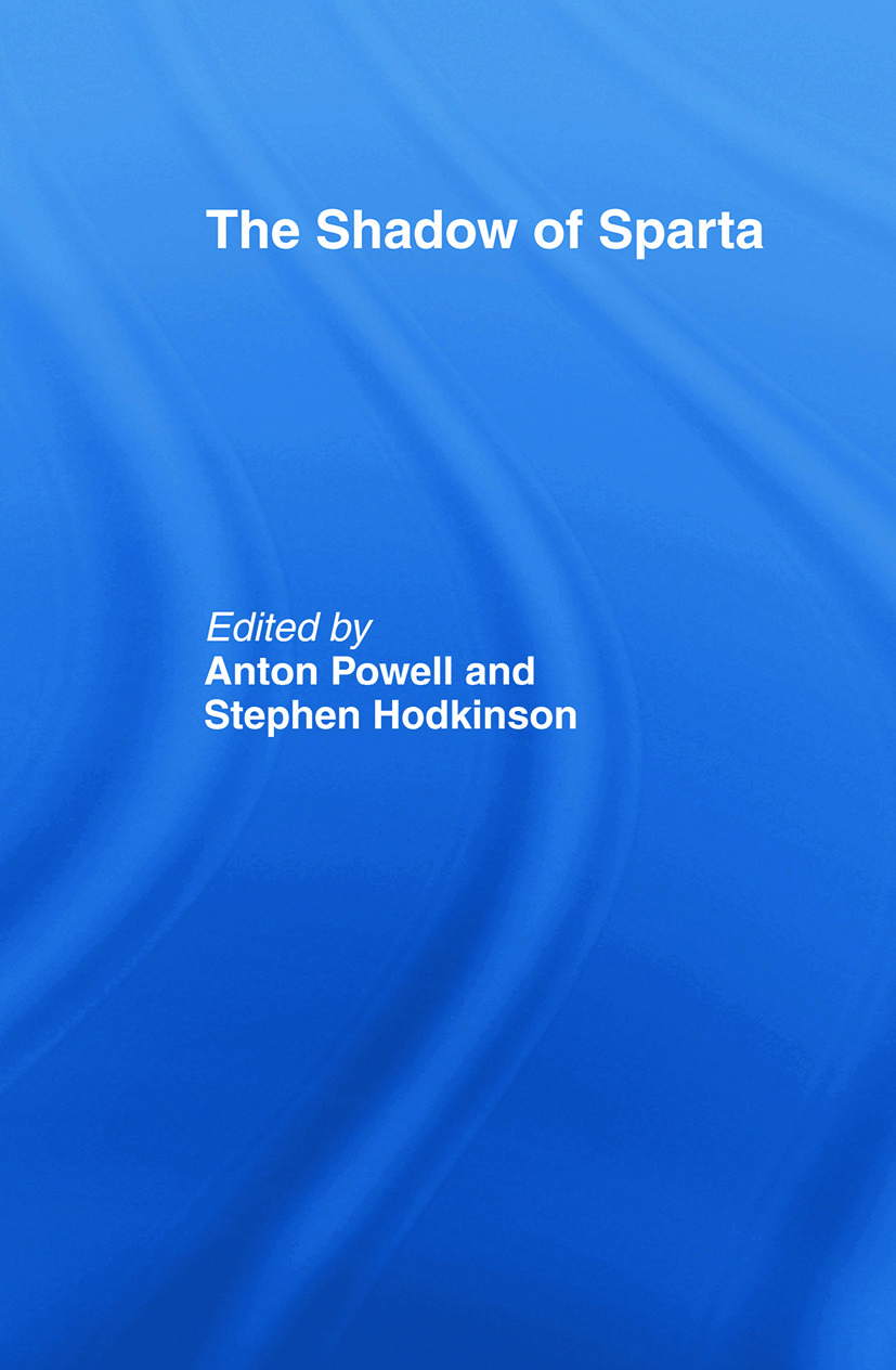The Shadow of Sparta (Paperback) book cover