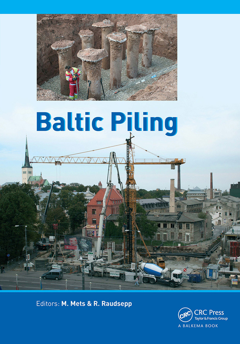 Baltic Piling (Hardback) book cover