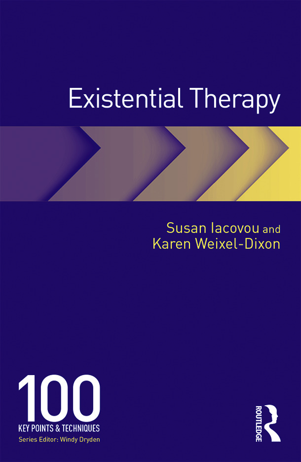 Existential Therapy: 100 Key Points and Techniques book cover