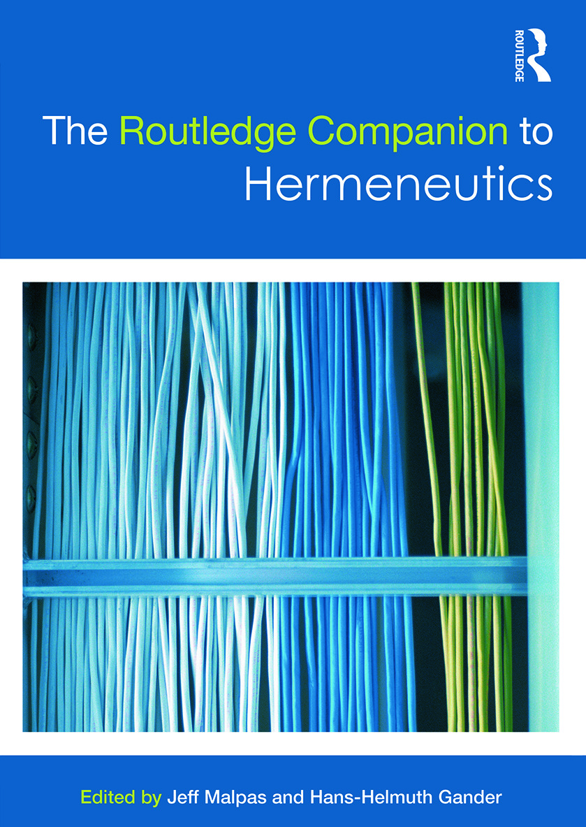 The Routledge Companion to Hermeneutics book cover