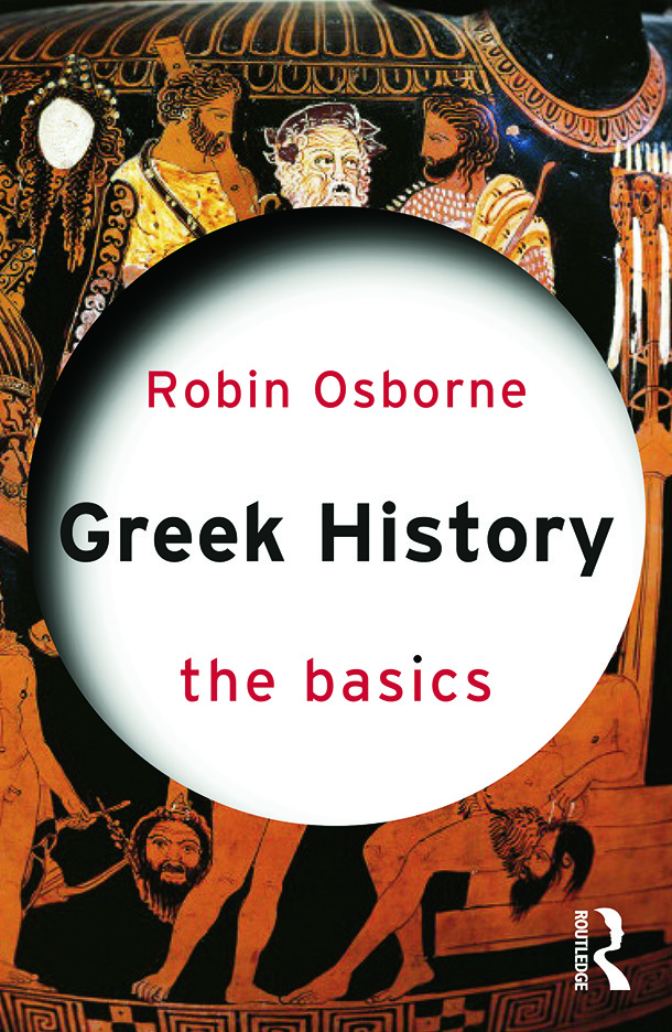 Greek History: The Basics: 1st Edition (Paperback) book cover