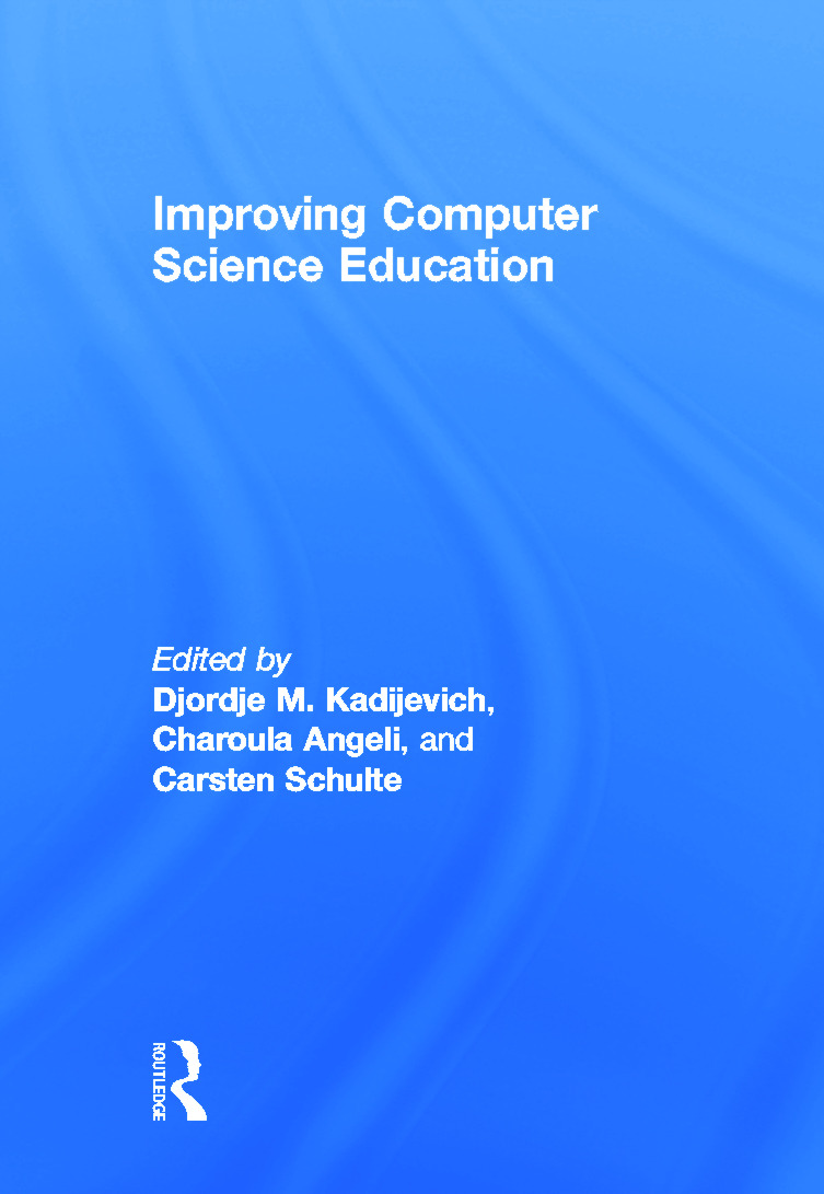 Improving Computer Science Education: 1st Edition (Hardback) book cover
