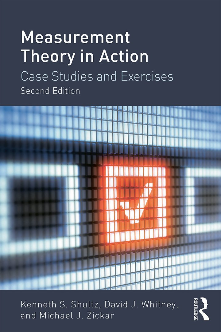 Measurement Theory in Action: Case Studies and Exercises, Second Edition, 2nd Edition (Paperback) book cover