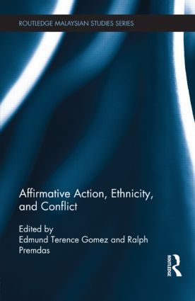 Affirmative Action, Ethnicity and Conflict: 1st Edition (Paperback) book cover
