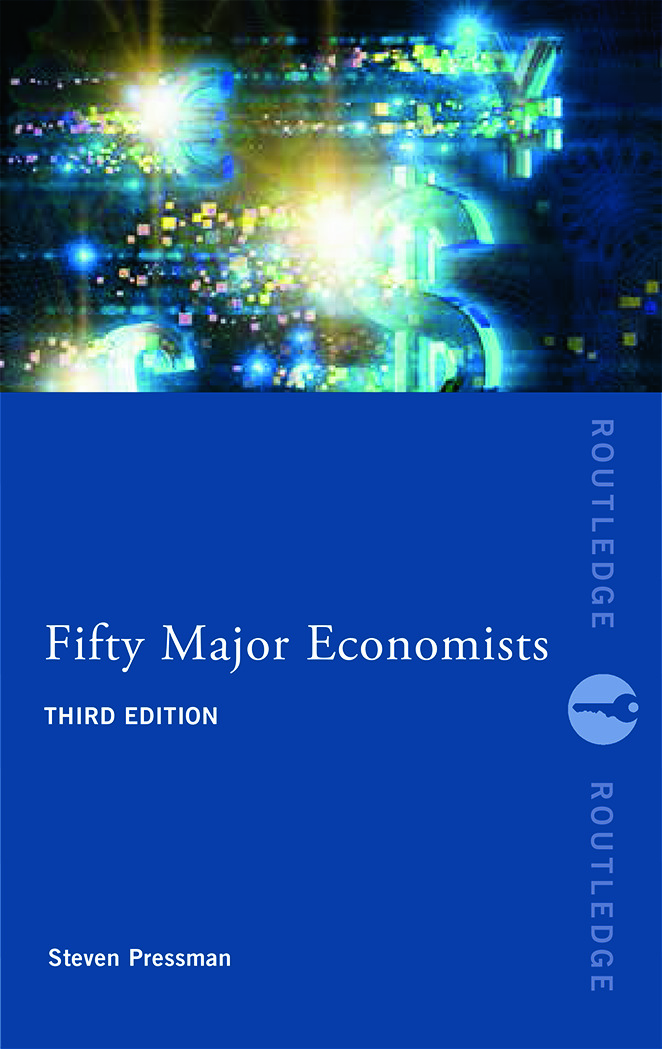 Fifty Major Economists: 3rd Edition (Paperback) book cover