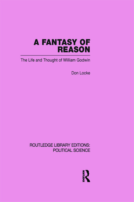 A Fantasy of Reason (Routledge Library Editions: Political Science Volume 29) (Paperback) book cover