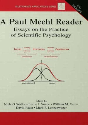 A Paul Meehl Reader: Essays on the Practice of Scientific Psychology (e-Book) book cover