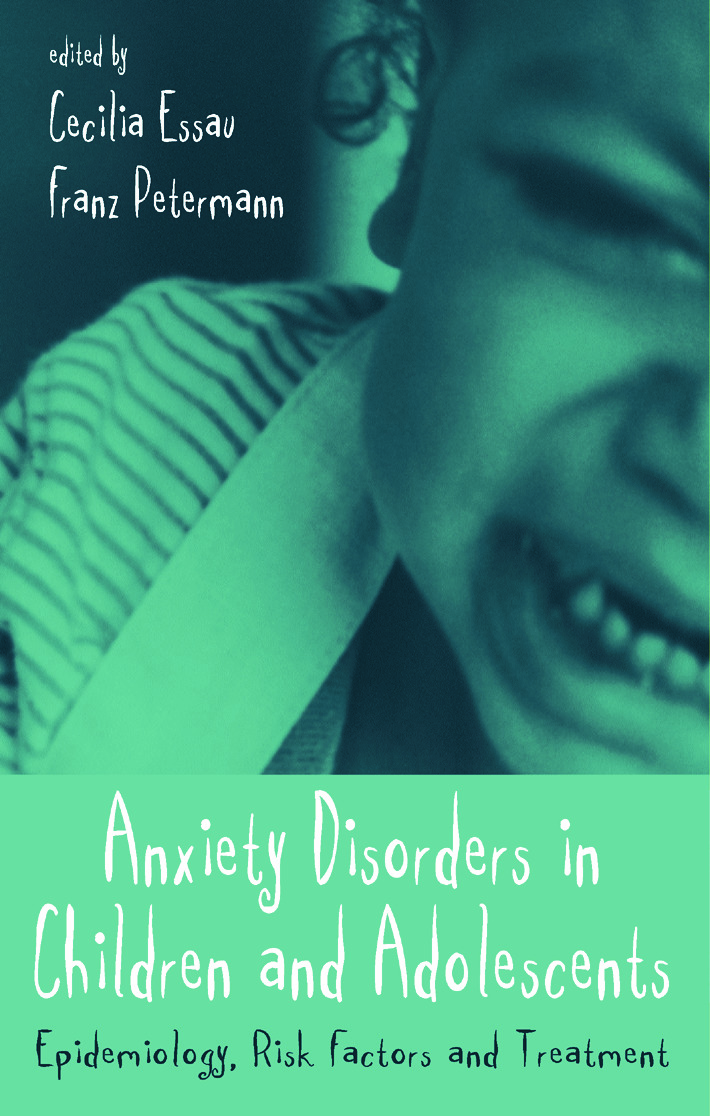 Anxiety Disorders in Children and Adolescents: Epidemiology, Risk Factors and Treatment (Paperback) book cover