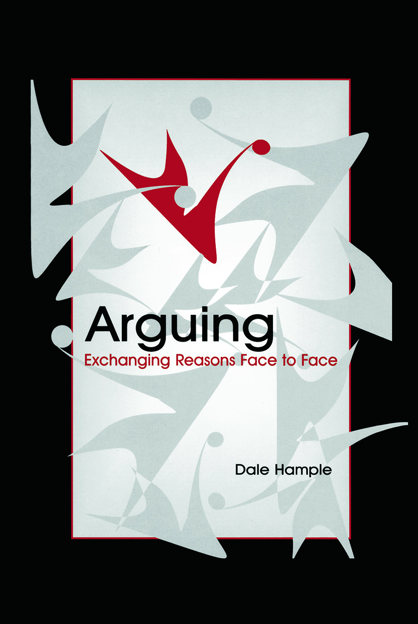 Arguing: Exchanging Reasons Face to Face (Paperback) book cover