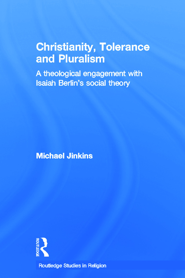 Christianity, Tolerance and Pluralism