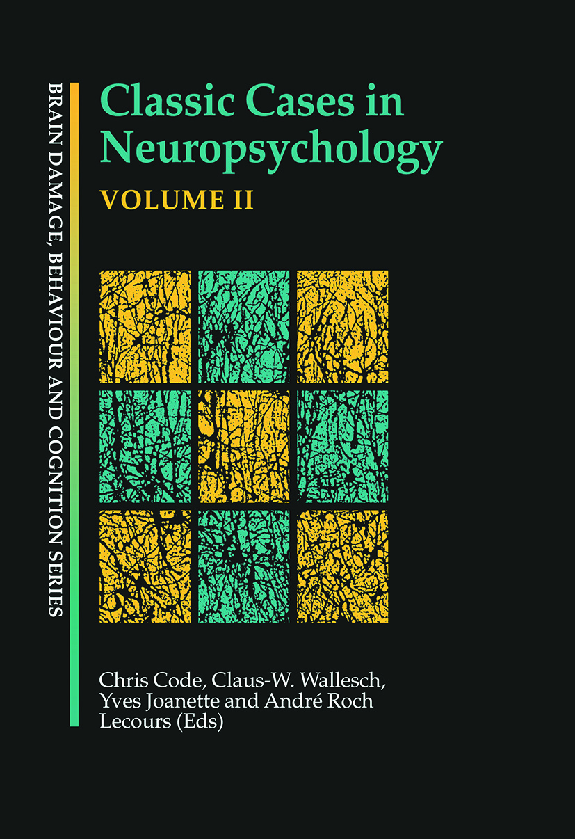 Classic Cases in Neuropsychology, Volume II book cover