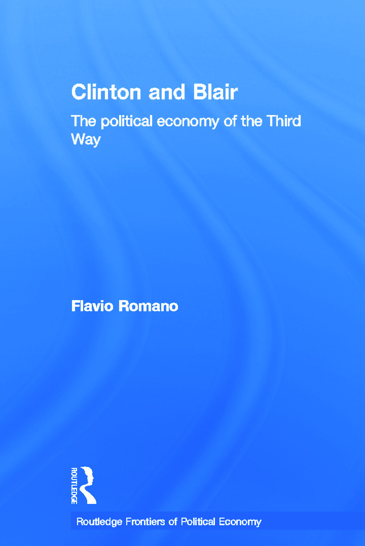 Clinton and Blair: The Political Economy of the Third Way (Paperback) book cover