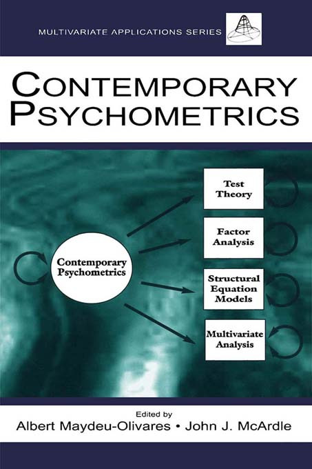 Contemporary Psychometrics (Paperback) book cover