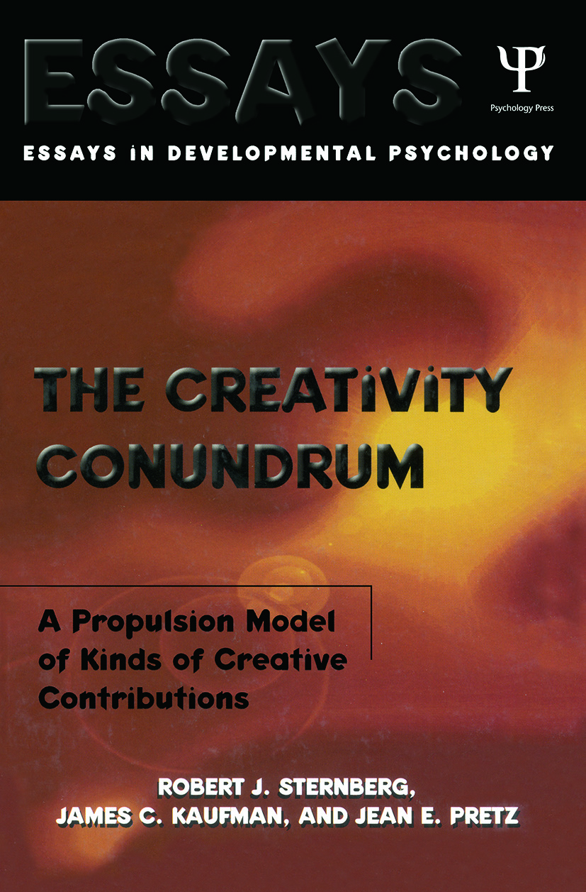 The Creativity Conundrum: A Propulsion Model of Kinds of Creative Contributions book cover