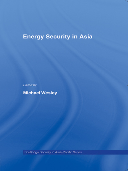 Energy Security in Asia (Paperback) book cover