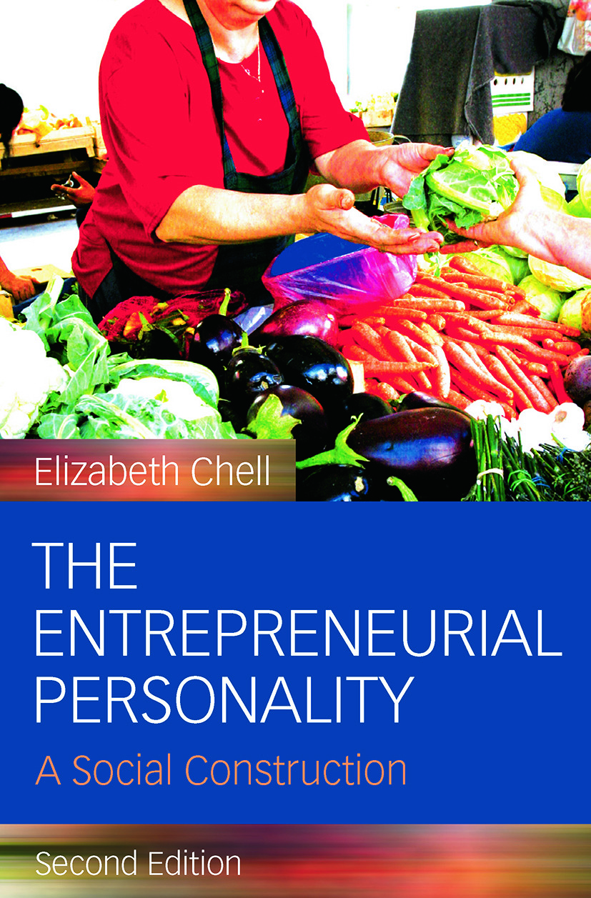 The Entrepreneurial Personality: A Social Construction, 2nd Edition (Paperback) book cover