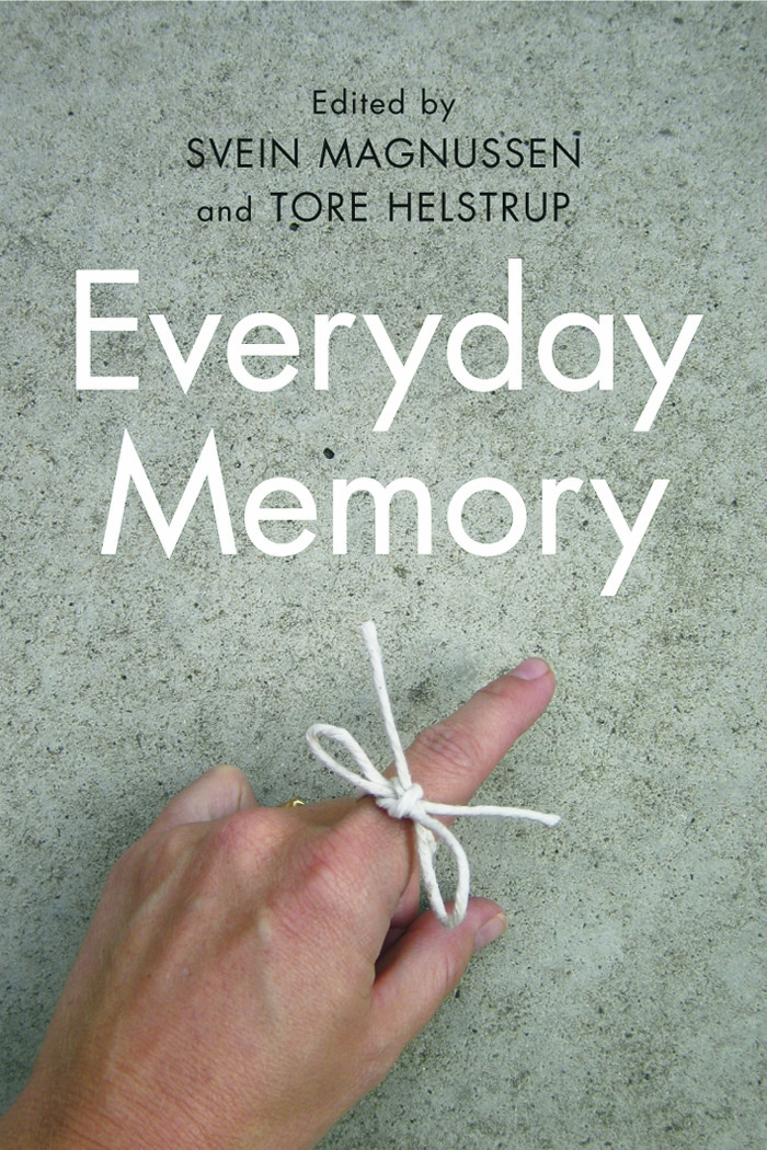 Everyday Memory (Paperback) book cover