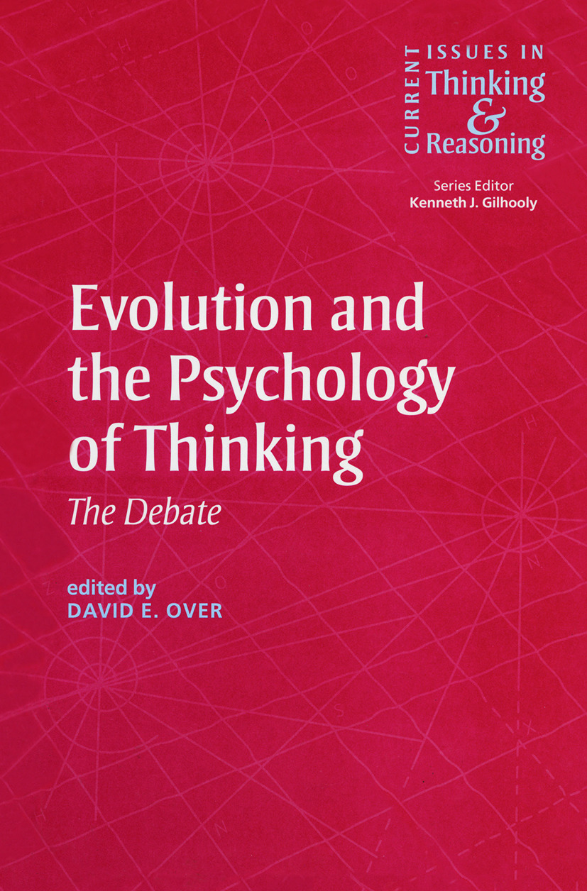 Evolution and the Psychology of Thinking: The Debate (e-Book) book cover