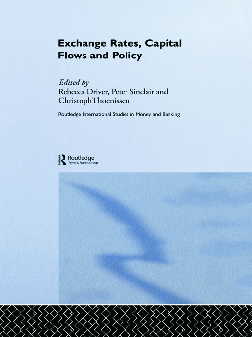 Exchange Rates, Capital Flows and Policy (Paperback) book cover