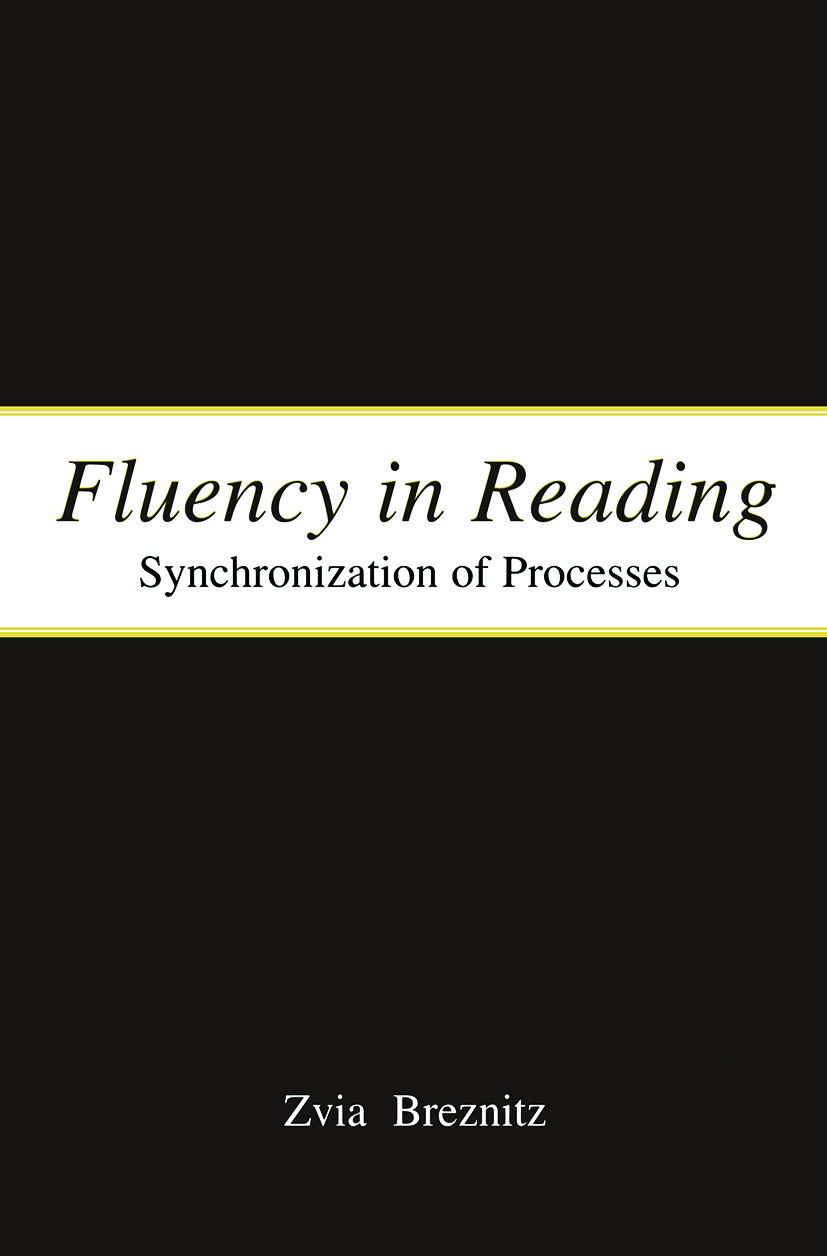 Fluency in Reading: Synchronization of Processes (Paperback) book cover