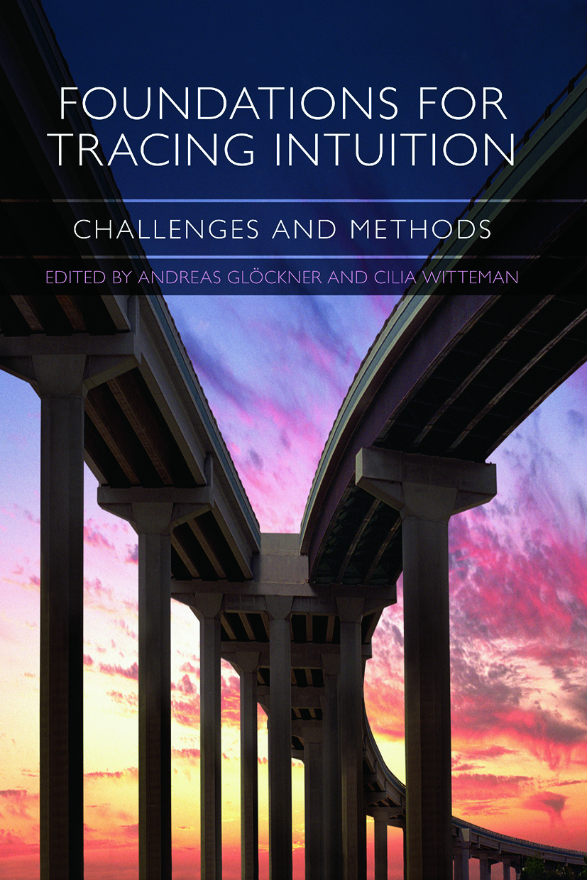 Foundations for Tracing Intuition: Challenges and Methods (Paperback) book cover