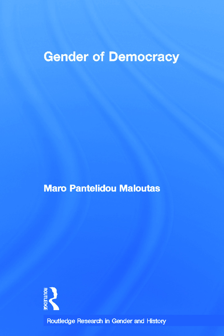The Gender of Democracy: Citizenship and Gendered Subjectivity (Paperback) book cover