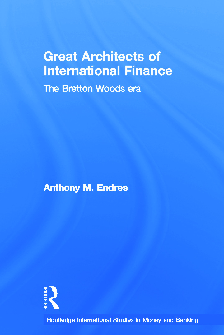 Architects of the International Financial System (Paperback) book cover