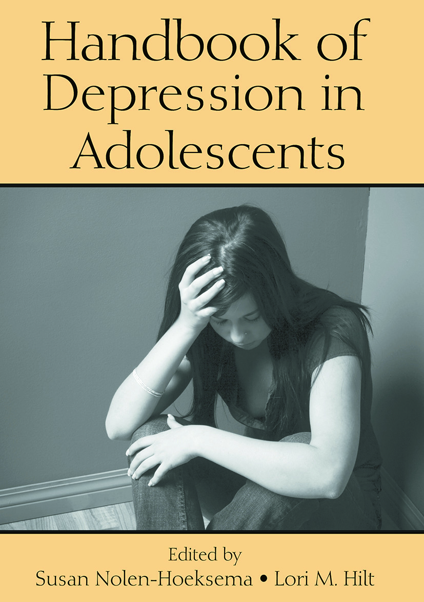 Handbook of Depression in Adolescents: 1st Edition (Paperback) book cover