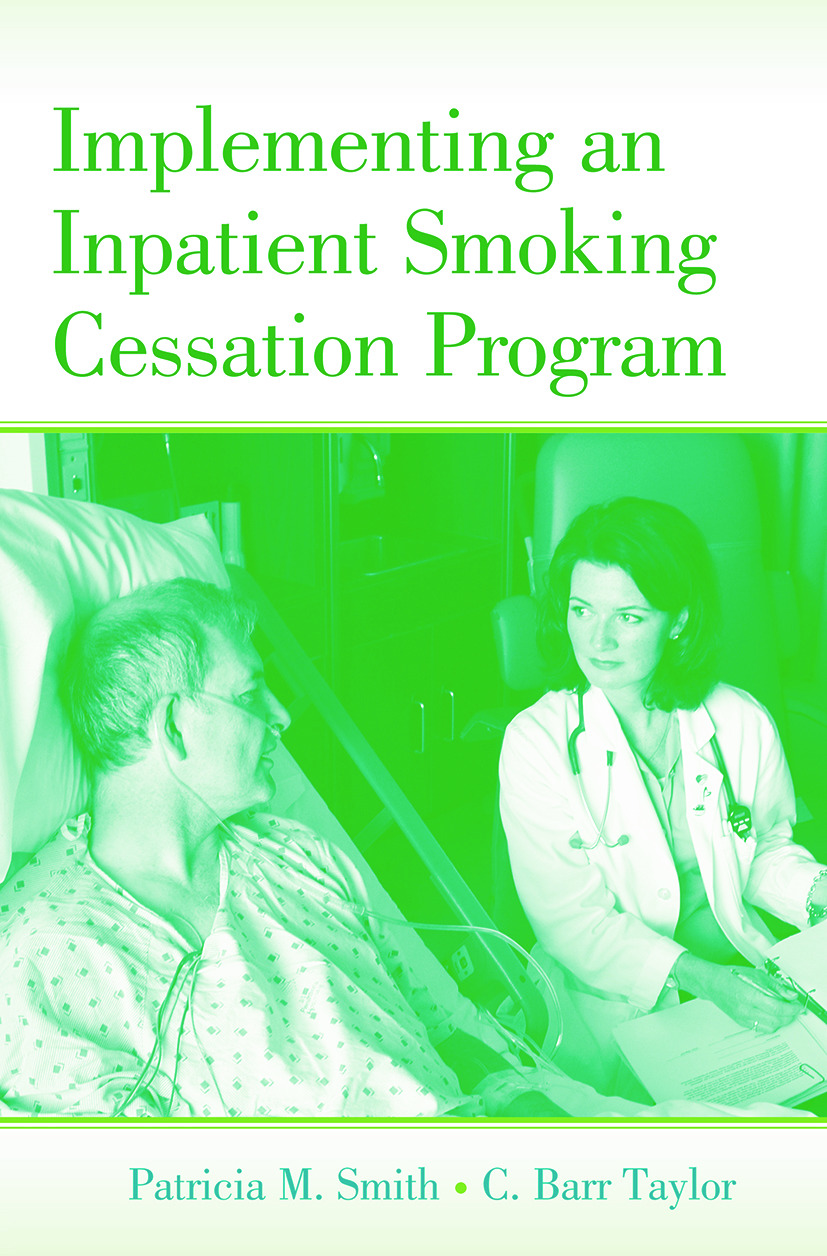Implementing an Inpatient Smoking Cessation Program (Paperback) book cover