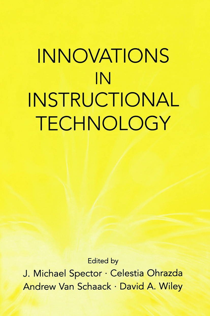 Innovations in Instructional Technology: Essays in Honor of M. David Merrill, 1st Edition (e-Book) book cover