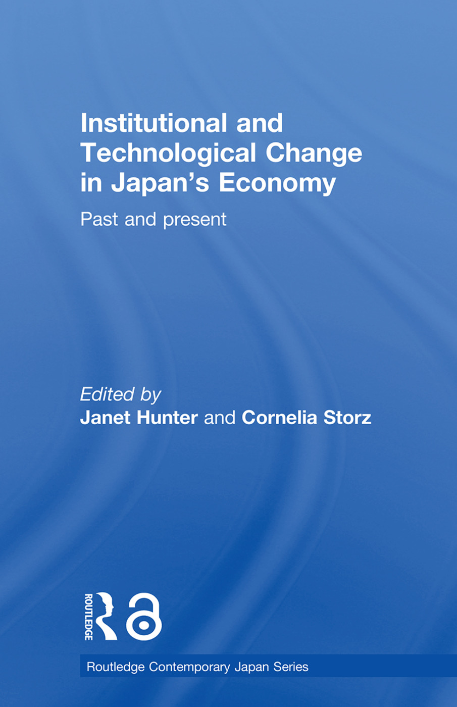 Institutional and Technological Change in Japan's Economy: Past and Present, 1st Edition (Paperback) book cover