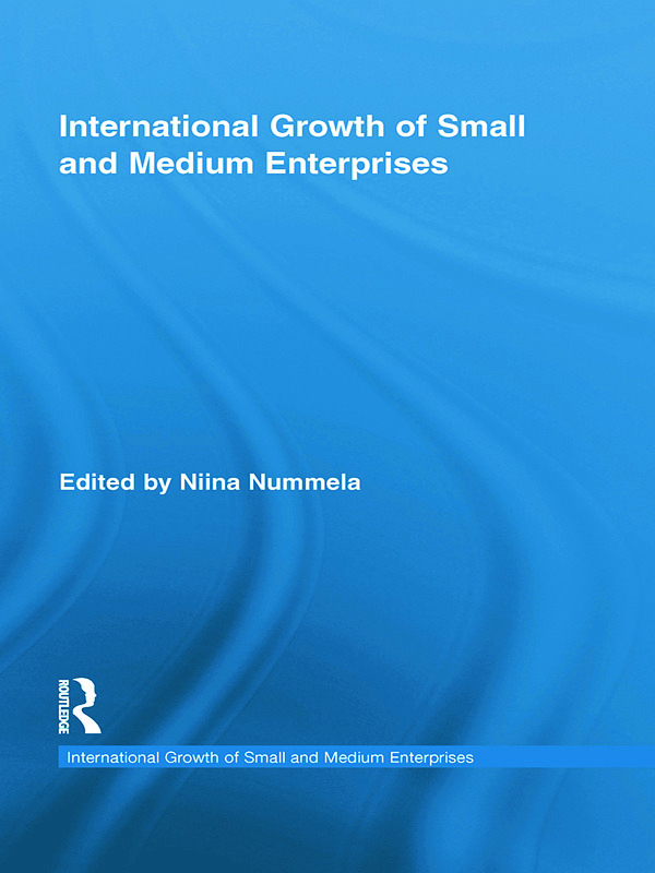 International Growth of Small and Medium Enterprises: 1st Edition (Paperback) book cover