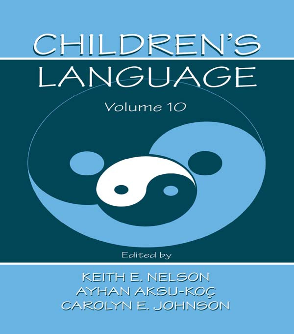Children's Language: Volume 10: Developing Narrative and Discourse Competence (Paperback) book cover
