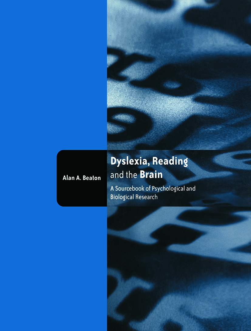 Dyslexia, Reading and the Brain: A Sourcebook of Psychological and Biological Research book cover