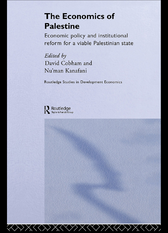The Economics of Palestine