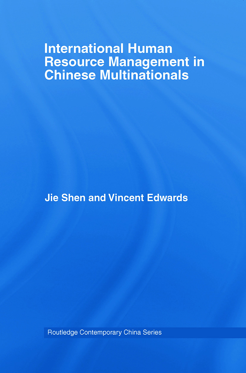 International Human Resource Management in Chinese Multinationals (Paperback) book cover