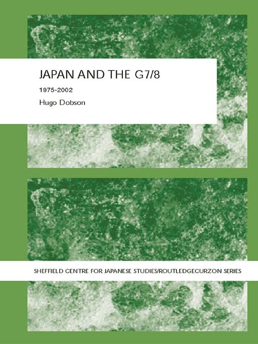Japan and the G7/8: 1975-2002 book cover