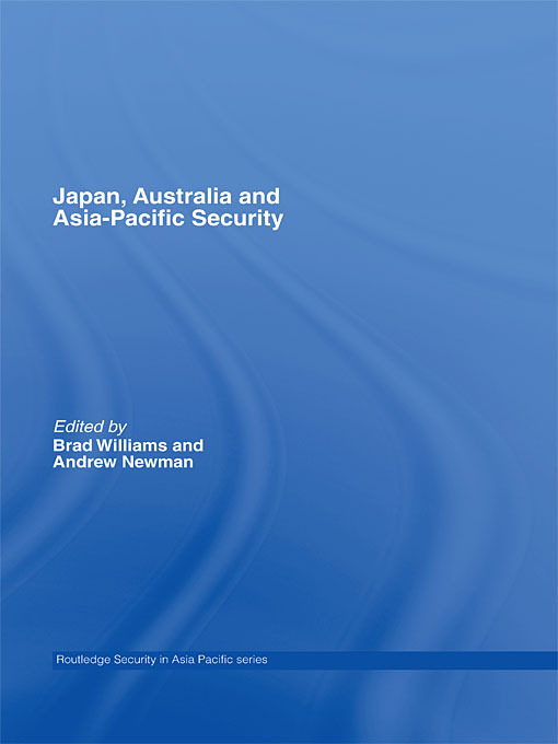 Japan, Australia and Asia-Pacific Security: 1st Edition (Paperback) book cover