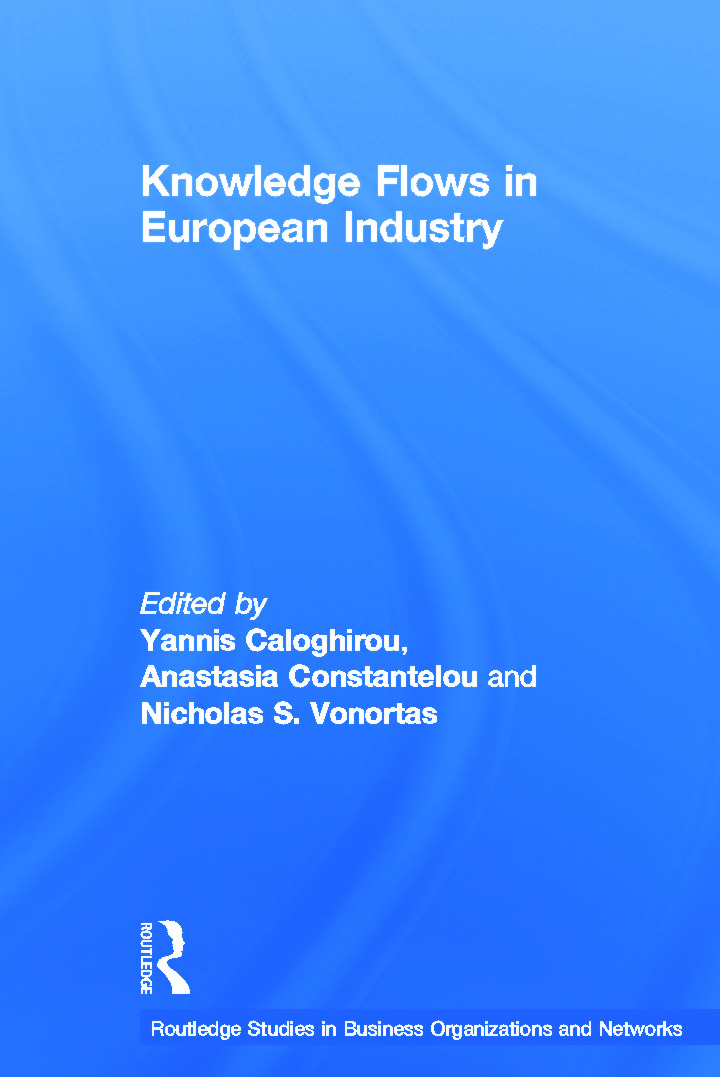 Knowledge Flows in European Industry (Hardback) book cover