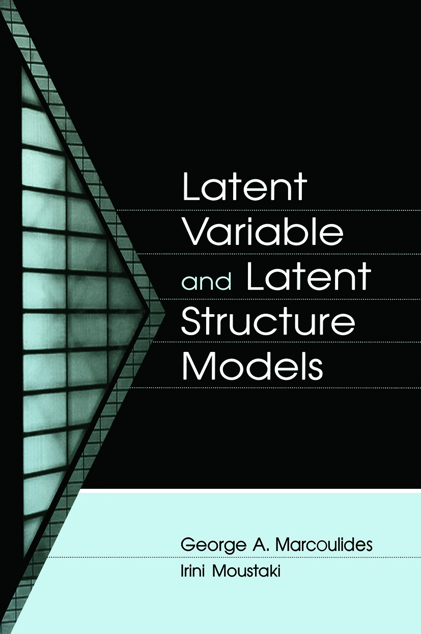 Latent Variable and Latent Structure Models (Paperback) book cover