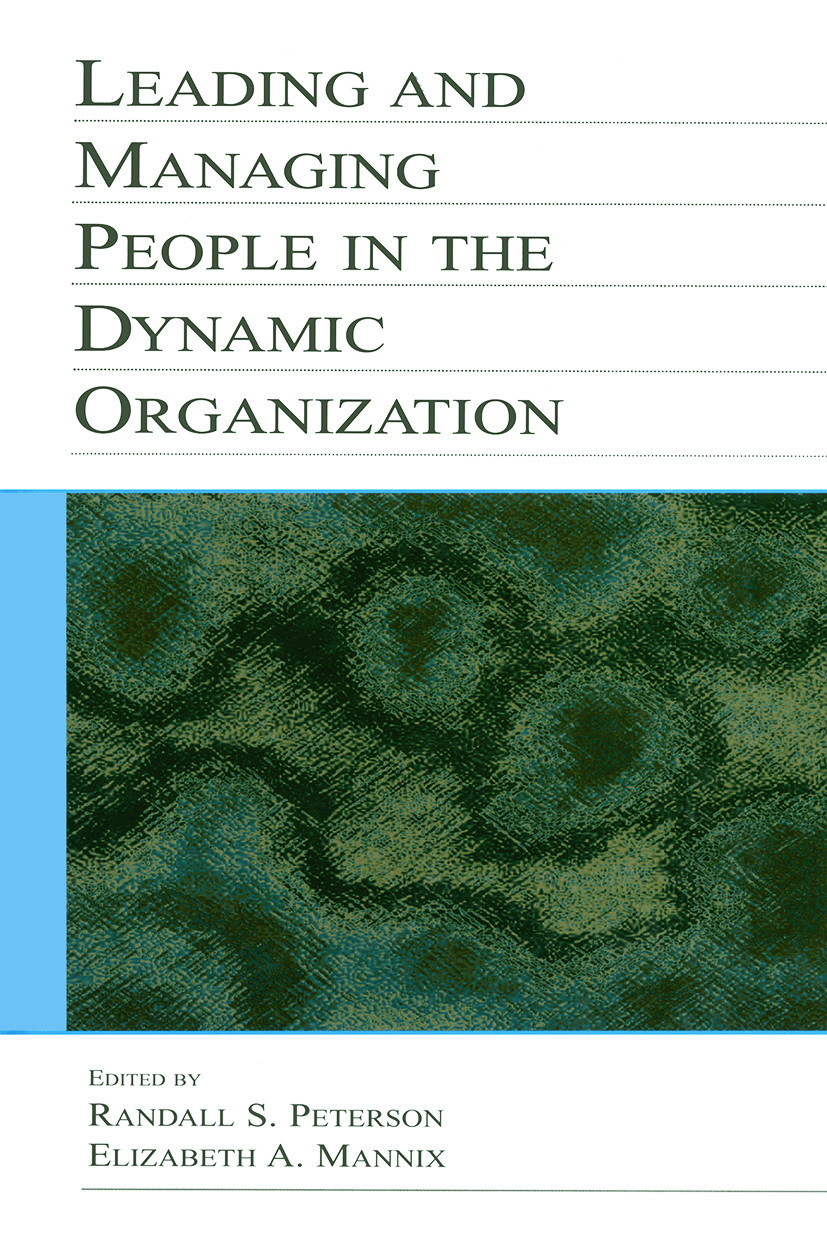 Leading and Managing People in the Dynamic Organization book cover