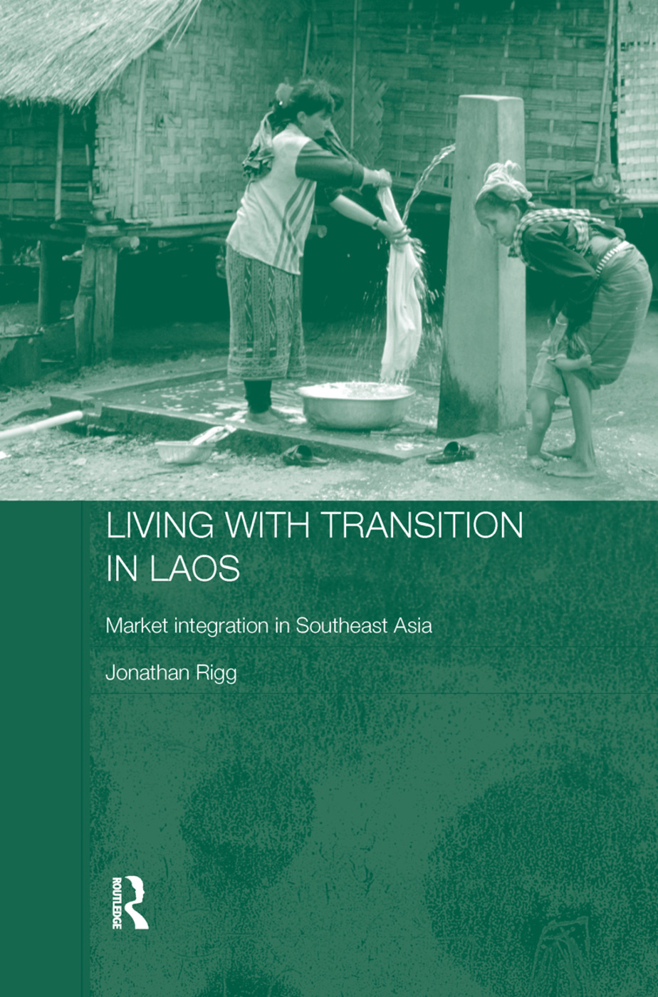 Living with Transition in Laos: Market Intergration in Southeast Asia (Paperback) book cover