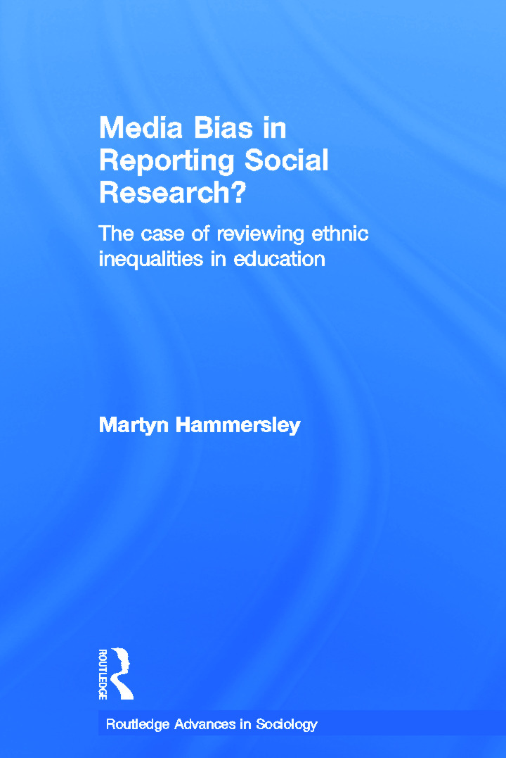 Media Bias in Reporting Social Research?