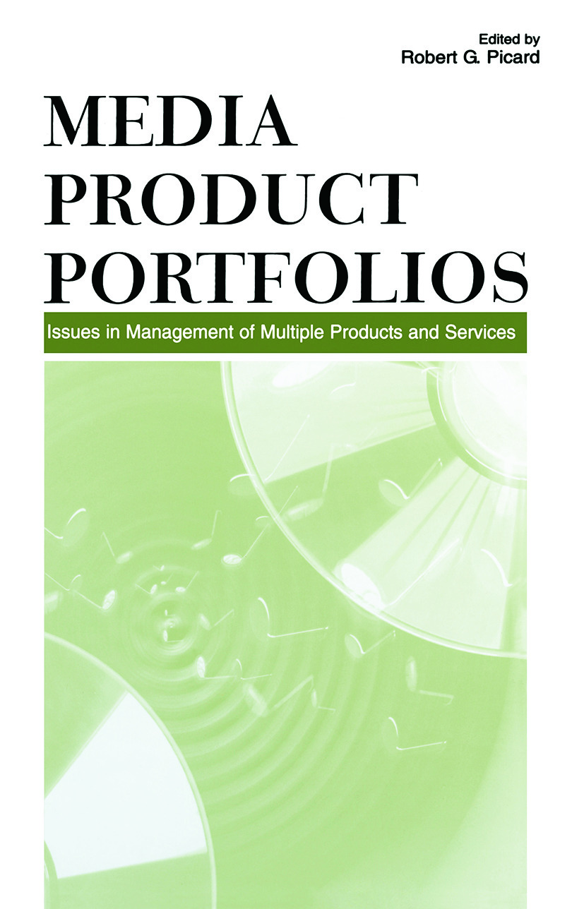 Media Product Portfolios: Issues in Management of Multiple Products and Services (Paperback) book cover