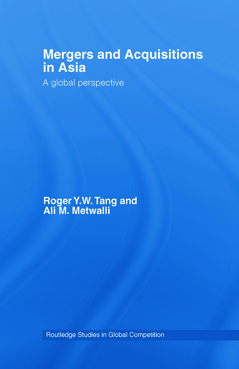 Mergers and Acquisitions in Asia: A Global Perspective (Paperback) book cover