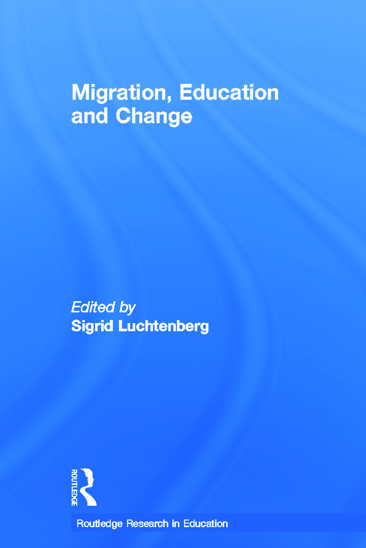 Migration, Education and Change (Paperback) book cover